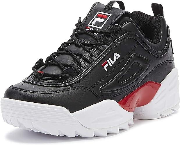 Fila Disruptor II Lab Herren SchwarzRotWeiß Sneakers