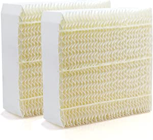 Funmit Humidifier Wick Filter Replacement for Essick Air 1043 Filter Compatible with EP9 EP9R 500 700 800 826000 826800 821000 and Bemis Spacesaver 800 8000 Series Humidifiers (2 Pack)