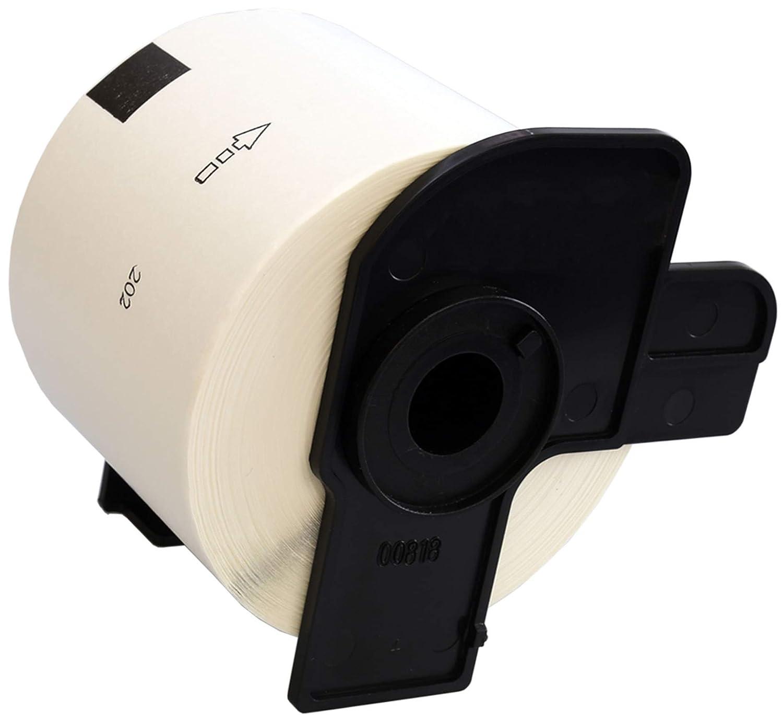 300 Labels per Roll for Brother QL-500 QL-550 QL-560 QL-570 QL-580N QL-700 QL-720NW QL-800 QL-810W QL-1050 QL-1060N Label Printers Compatible DK11202 White Standard Address Labels 62mm x 100mm