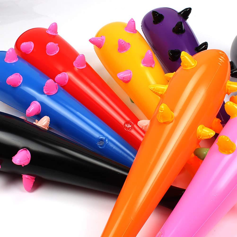 Toyvian 10pcs Porra Hinchable Infantil de los niños Color Mezclado ...