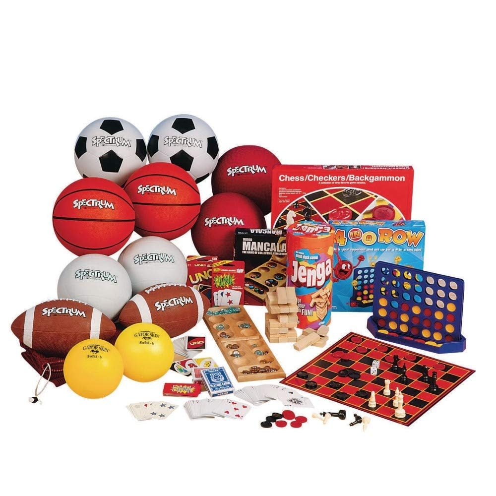 S/&S Worldwide Ball and Game Easy Pack