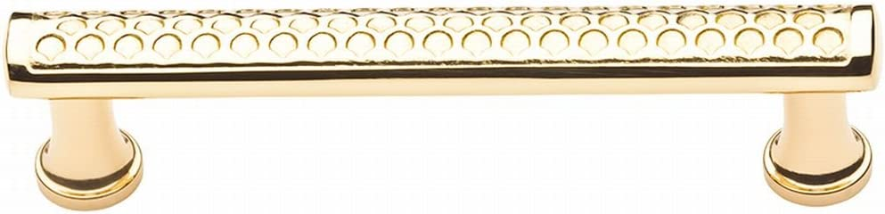 Baldwin 4377050 Couture Cabinet Pull in Antique Brass