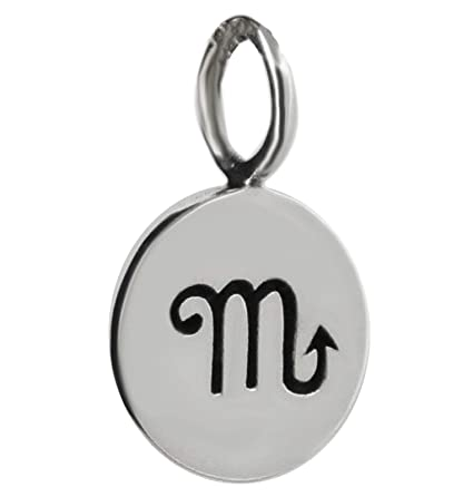 Amazon.com: Scorpio - Colgante de plata de ley 925, diseño ...