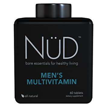 Daily Multivitamin For Men By Nud Best For Fitness Muscle Growth Energy And
