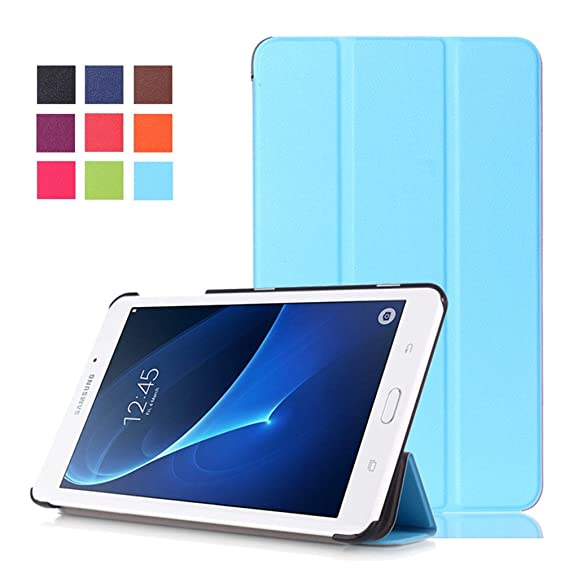 best sneakers 9f8d3 8bde9 Samsung Tab A 2016 7.0 Case,Galaxy Tab A 7 T285 Cover,Samsung Tab A 7in  Protective Case,[Stand Features] Flip Cover Case for 2016 Samsung Galaxy  Tab A ...