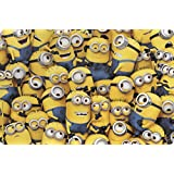 Zak! Designs Placemat with Despicable Me 2 Minions Graphics, BPA-Free Plastic