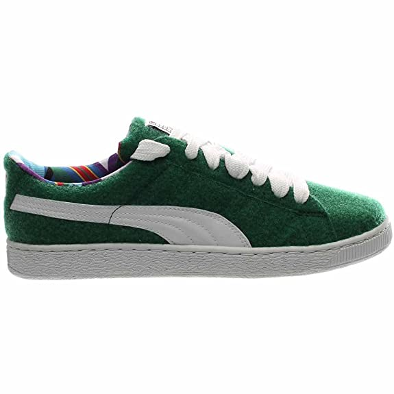 eb9489a3682d Puma x Dee and Ricky Men Basket (Green Verdant White) Size 7. 5 US  Buy  Online at Low Prices in India - Amazon.in