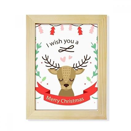 Amazon Com Diythinker Christmas Deer Festival Pattern Desktop