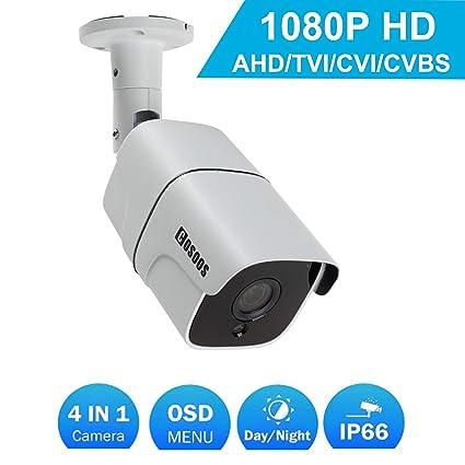 Cámara de Seguridad de Bala 1080P 2.0MP HD, cámara de vigilancia de CCTV Interior