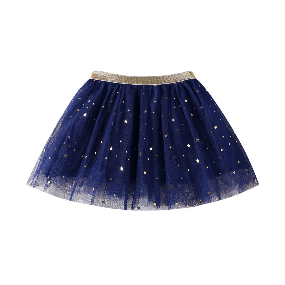 GUTTEAR Fashion Baby Kids Girls Princess Stars Sequins Party Dance Ballet Tutu Skirts
