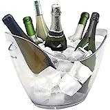 Vin Bouquet FIE 029 - Secchiello portaghiaccio trasparente per 6 bottiglie
