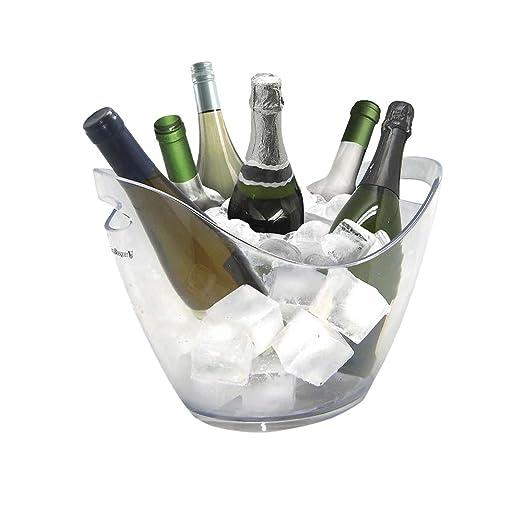 13 opinioni per Vin Bouquet FIE 029- Secchiello portaghiaccio trasparente per 6 bottiglie