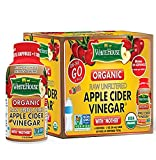 (6 bottles/2oz each) White House Organic Apple Cider Vinegar ON-THE-GO (Pack of 3)