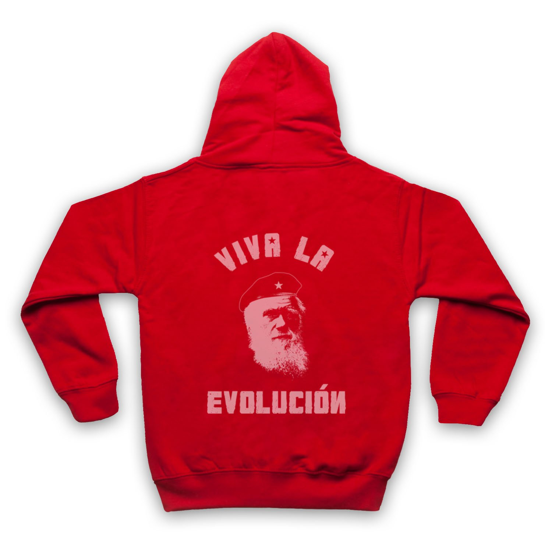 My Icon Big Boys Charles Darwin Viva La Evolucion Kids Zip Hoodie