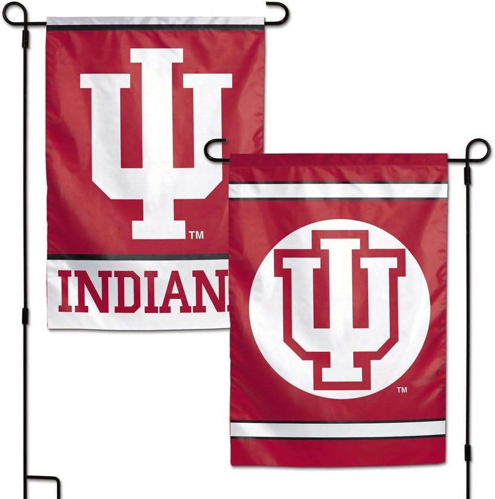 """WinCraft NCAA Indiana University WCR16460031 Garden Flag, 11"""" x 15"""""""