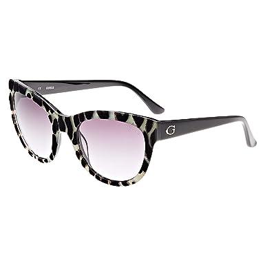 fb1af45b4 Guess Square Women's Sunglasses - GU742905B56-56 -22-135 mm: Amazon ...