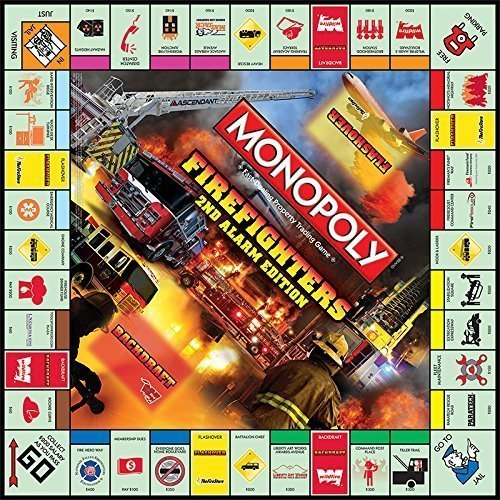 Amazon.com: Monopoly – Bomberos 2 nd Edition de alarma ...