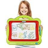 Magnetic Drawing Board,Kids Magna Doodle Erasable Writing Sketch Board Pad Upgrade Version Green