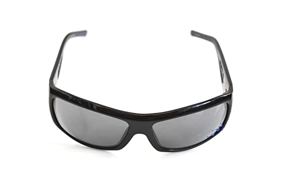 11445152cac Image Unavailable. Image not available for. Color  Black Flys Sunglasses  SNOW FLY with Blue Rhinestones Black Limited
