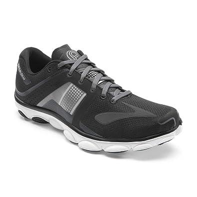 d1f675e5c1246 Brooks Men s Pure Flow 4 Running Shoes Black 110190-1D-068  Amazon ...
