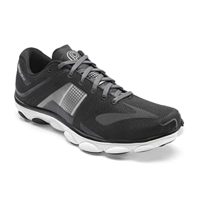 Brooks Men's PureFlow 4 Black/Anthracite Sneaker 8.5 D ...