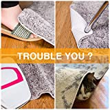 Rug Grippers, 4 PCS Non Slip Washable Rug