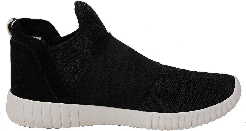 ED Ellen DeGeneres Womens Hachiro Mesh Low Top Slip-On Sneakers Black
