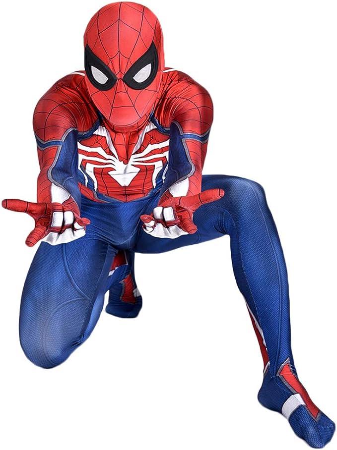 QWEASZER Capitán América: Guerra civil, PS4 Traje de SpiderMan ...