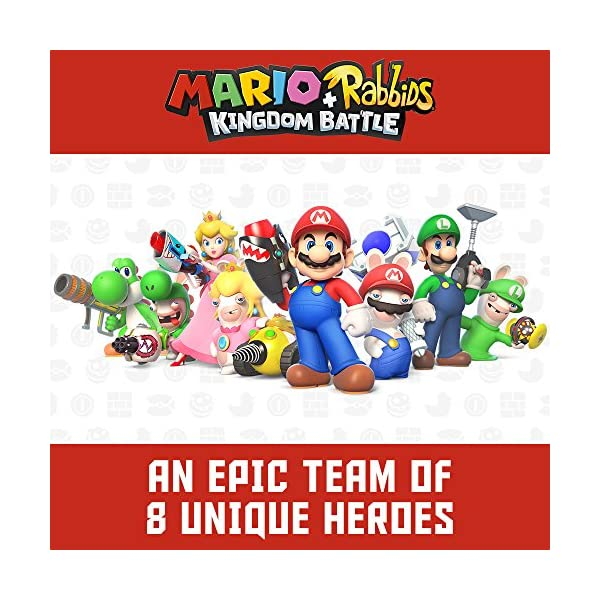 Mario + Rabbids Kingdom Battle - Nintendo Switch Standard Edition 3