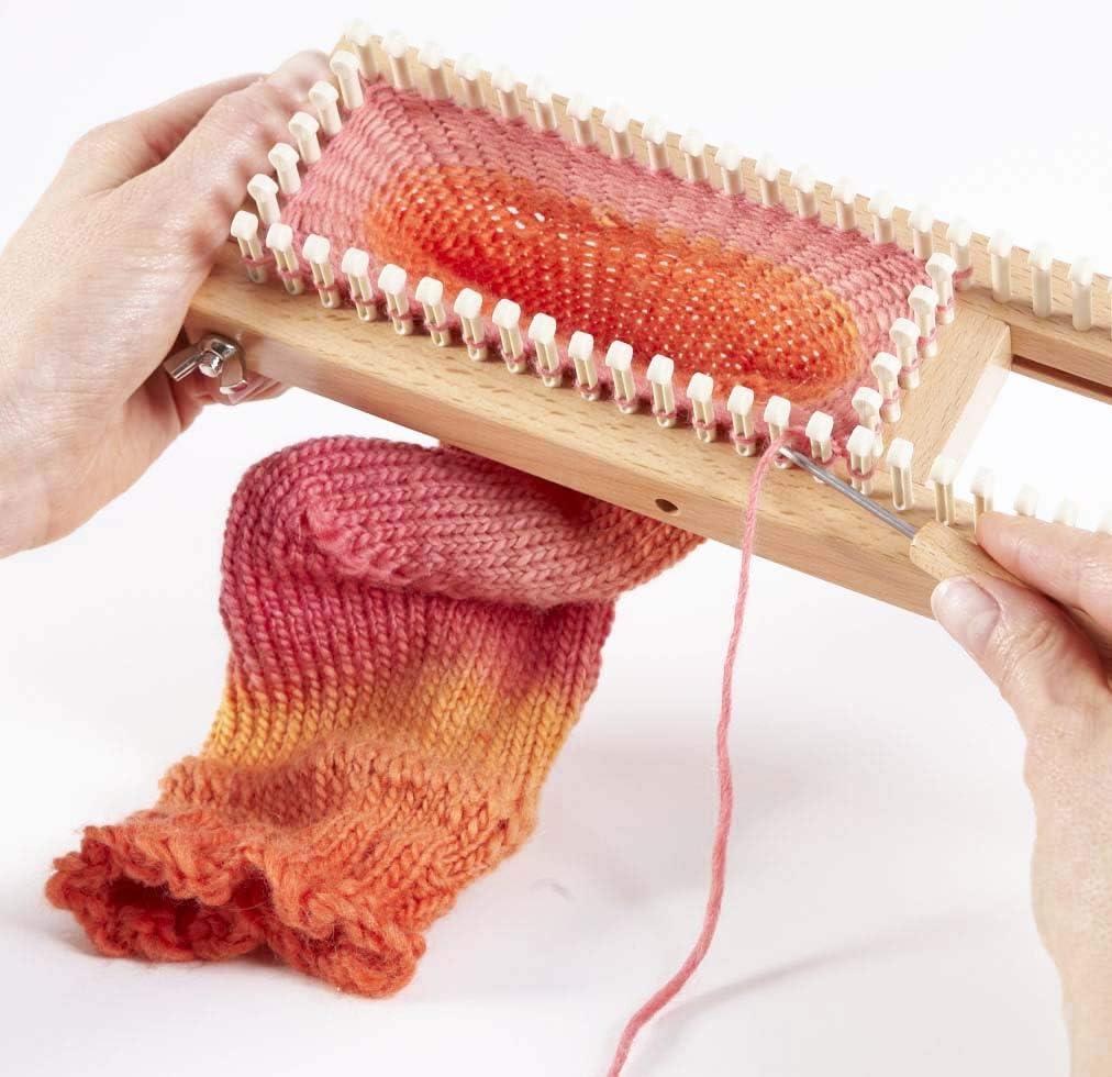 "KB All-n-One Loom 18/"" 45cm All In One Knitting Board Sock Loom Round Loom"