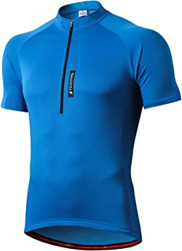 feiXIANG Maillot Ciclismo Hombre,Camiseta Manga Corta Bicicleta ...