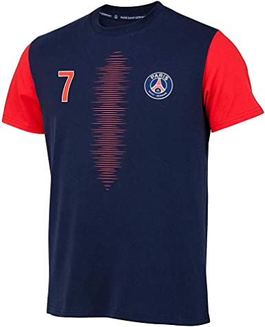 Blue Official French Soccer Team Kylian Mbapp/é T-Shirt