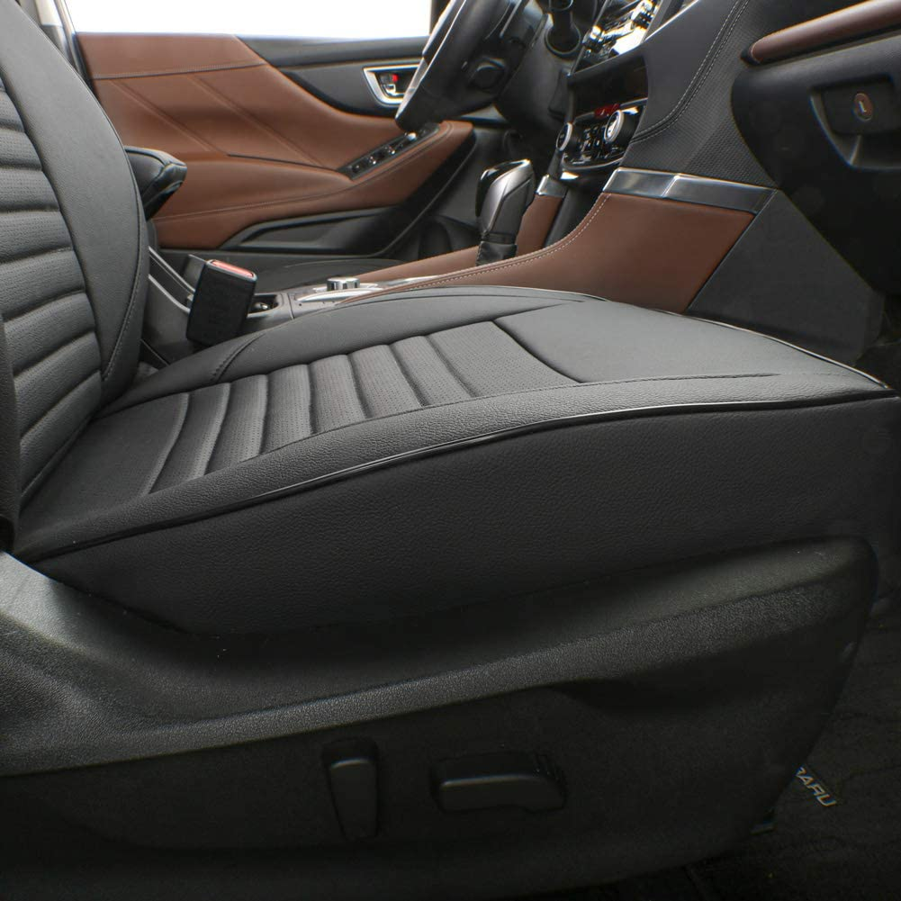 FOR SUBARU OUTBACK BLACK FRONT CAR SEAT COVERS ALL OVER WATERPROOF JACQUARD!