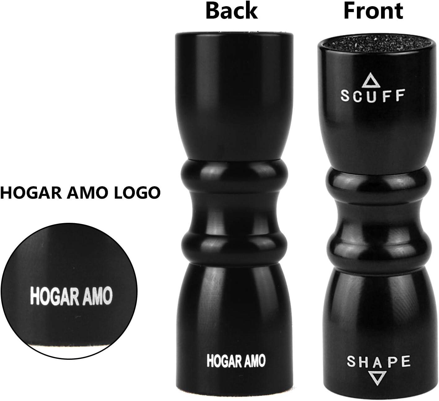 HOGAR AMO Billiard//Pool//Snooker Bowtie Cue Tips Stick Cue Care Accessory Scuffer-Shaper-Aerator 3-in-1 Stainless Steel Billiard Cue Tip Tool Repair Tools
