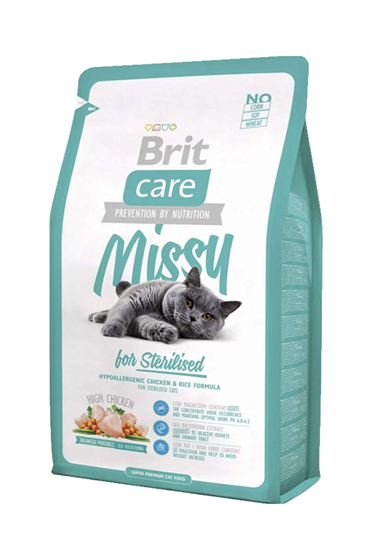 BRIT Care Cat Missy Croquette pour Chat Stérilisés 7 kg 8595602505722