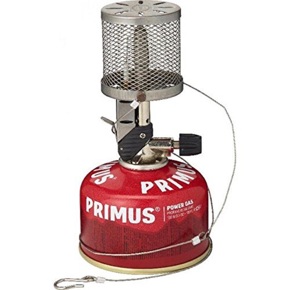 Primus Laterne Micron mit Gitter und Piezozündung - 235 Lumen