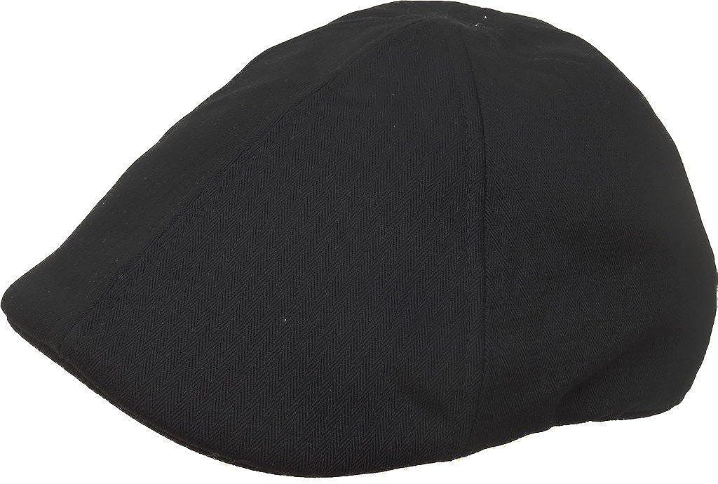 Broner Tonal Herringbone Cotton 6 Panel Pub Cap Duck Bill Ivy Scally Hat
