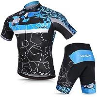 Bib Shorts Acolchados Almohadilla de Asiento de Gel 9D para Montar En Bicicleta Conjunto C/ómodo y De Secado R/ápido Moxilyn Ropa de Ciclismo para Hombre Traje de Bicicleta Conjunto de Verano Top