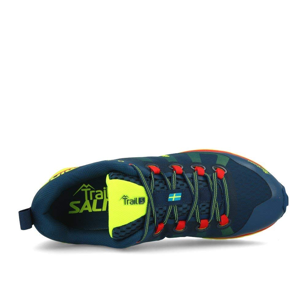 Blue Salming Mens Trail 5 Competition Running Trainers