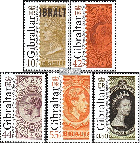 Gibraltar 1425-1429 (Complete.Issue.) 2011 Stamps of Gibraltar (Stamps for Collectors) Stamp on Stamp
