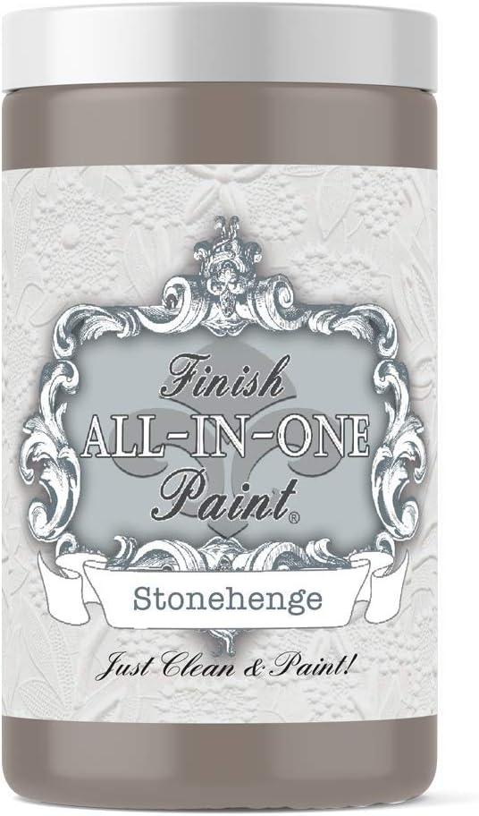 Stonehenge (mid-Tone Greige), Finish All-in-One Paint 32oz Quart