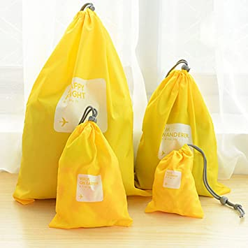 Amazon.com : 4 in 1 Best Choice Waterproof Drawstring Bag for Kids ...