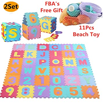 Debieborahtoys Alphabet Puzzle Play Mat Kids Foam Puzzle Floor Play Mat With Shapes Colors Or Numbers Alphabets