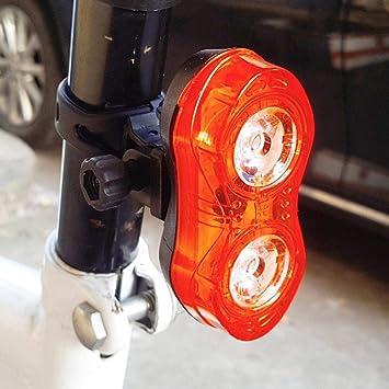 Dixinla Luz de Bicicleta Ojo de Gato Tipo luz Trasera de Bicicleta ...