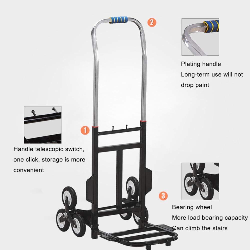 4d5eeaa80390 Amazon.com: ZSLLO Aluminum Alloy Car Folding Luggage Cart Portable ...