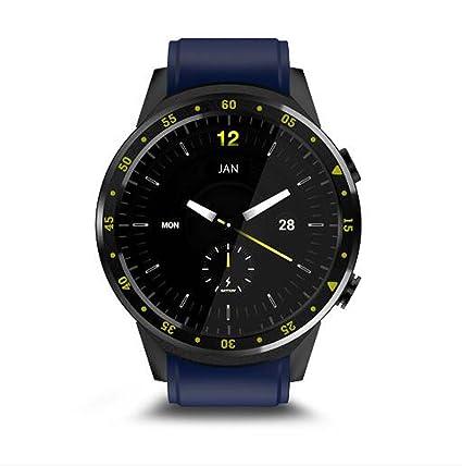 Relojes Inteligentes Reloj Inteligente SN05 Ronda de Reloj Inteligente con Ranura para Tarjeta SIM TF Llamadas de sincronización Notificaciones para (Color ...