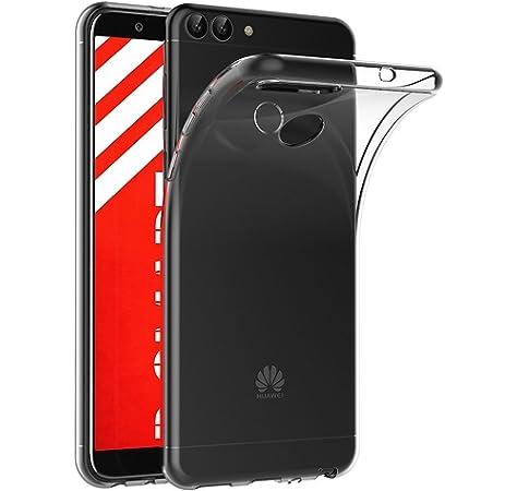 REY Funda Carcasa Gel Transparente para Huawei P Smart/Enjoy 7S ...