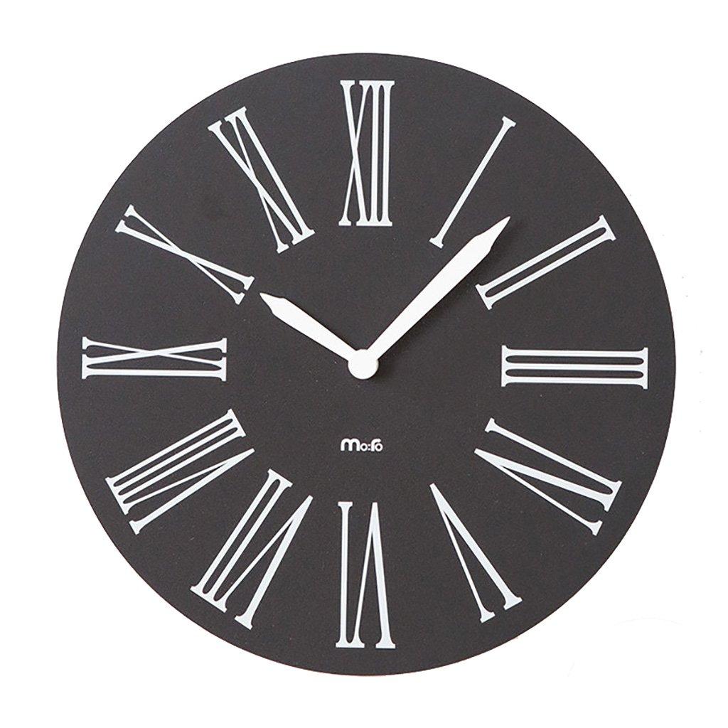 ヨーロッパのローマ数字の壁時計リビングルームモダン時計のベッドルームのミュート壁のチャートラウンド簡単な時計 B07F5ZCCKS