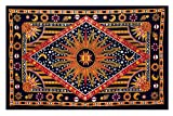 Celestial Sun Moon Stars Planet Tapestry Indian wall decor hippie tapestry mandala cotton dorm decor beach blanket Shubhangie