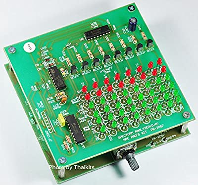 Spectrum Analyzer 8 Audio Frequency 6 Level LED VR Adjust Assembled kit 100% Tracking Number by NPE